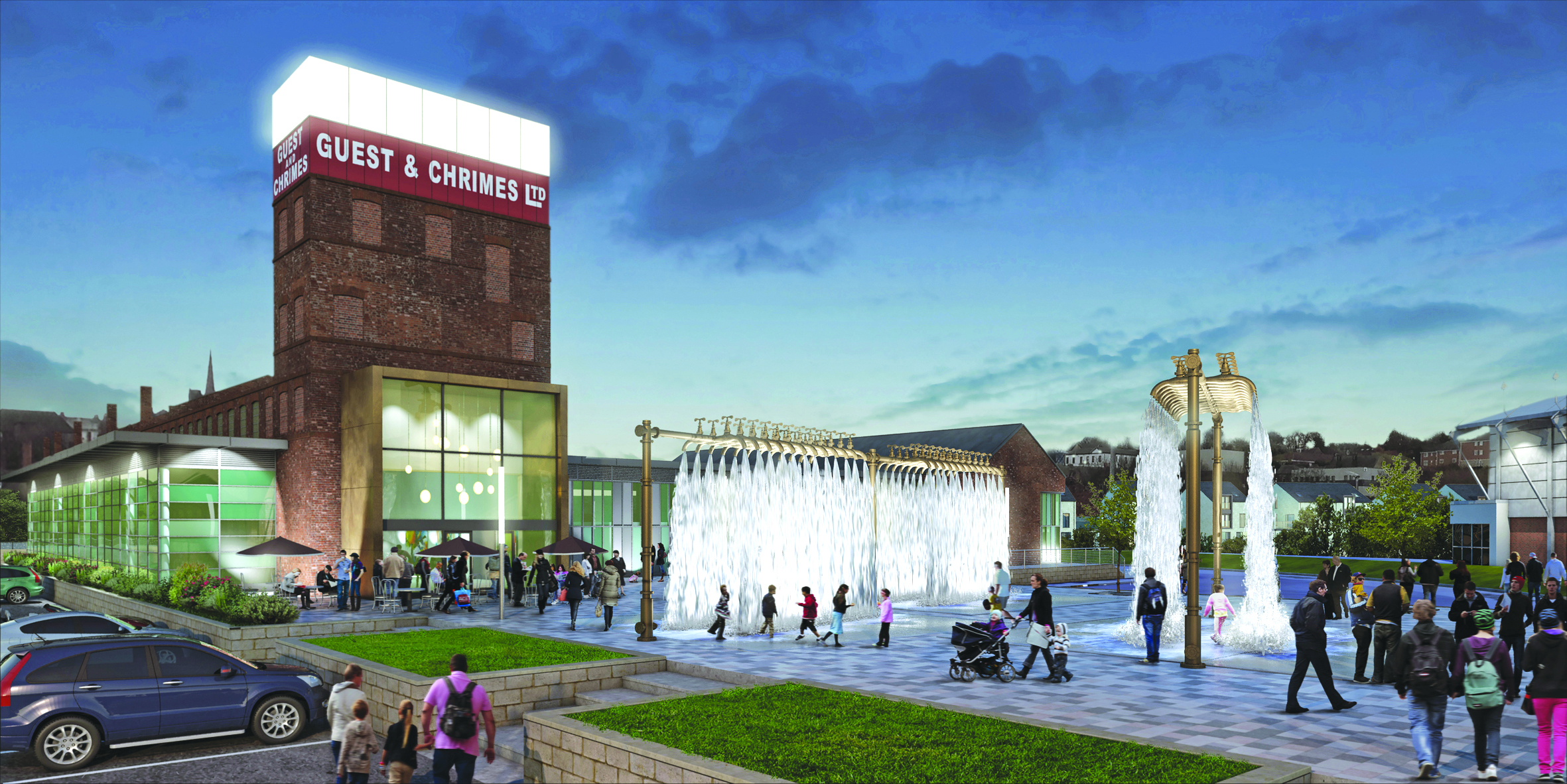 Cinema And Hotel At Heart Of 163 150 Million Plan To