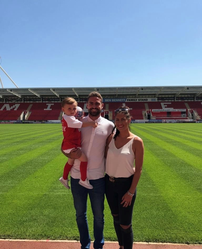 The Big Rotherham United Interview: Clark Robertson. And his dad