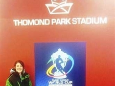 World class job for Mexborough physio Kat
