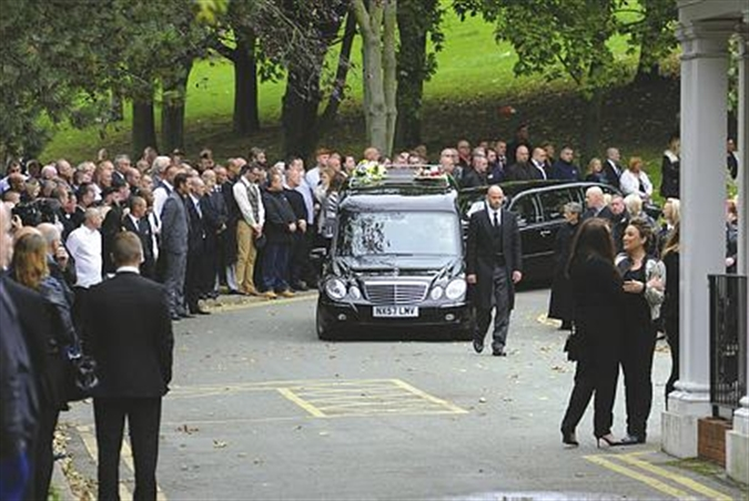 Mourners Pack Crematorium To Pay Respects To Didcot