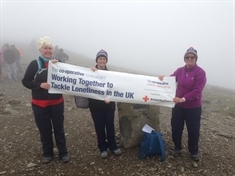 Undertakers take on charity climbing challenge