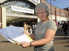 Campaigner standing firm over bus row