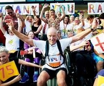 Internet giant Amazon's £1,000 boost to marathon man Ray's appeal