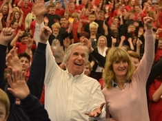VIDEO: The day The Fonz came to school...