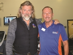 Hairy Biker Si revs up support for healthy eating