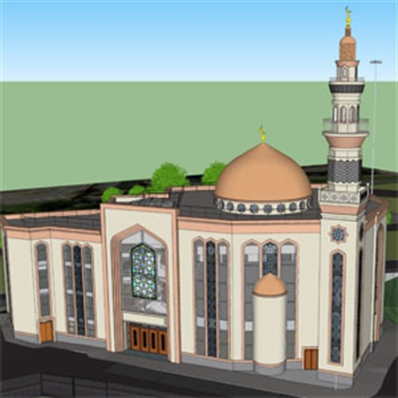 'Inspiring' mosque plan for Rotherham town centre