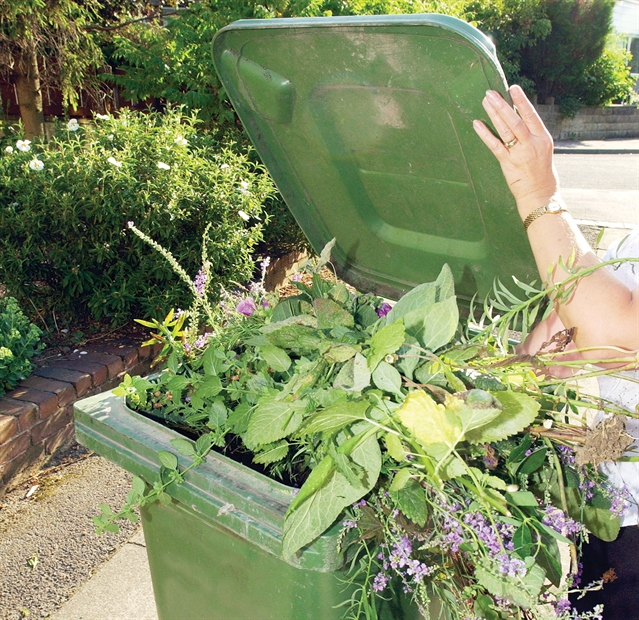 Green waste collections switch to winter timetable