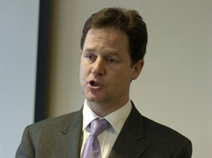 Clegg criticises strike planned for eve of Olympics