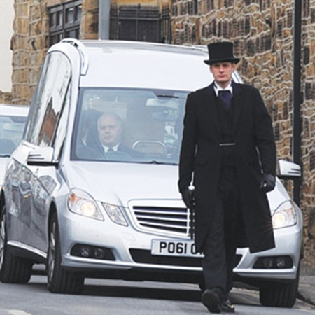 Final farewell to Rotherham fire victim