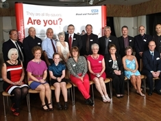 Rotherham blood donors' milestones marked