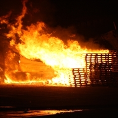 Massive blaze destroys Rotherham factory: VIDEO AND PICTURES