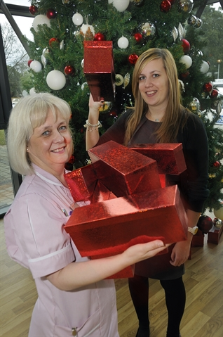 Housing firm delivers Christmas joy for patients