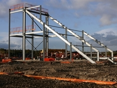 VIDEO: Millers' stadium begins to take shape