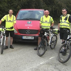 Cycle squad on trail of arsonists