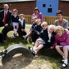 MP inspects school's eco-extension
