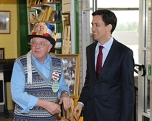 Ed Miliband visit boost to markets campaign