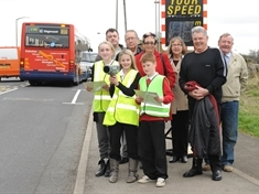 VIDEO: Speed camera schoolkids highlight road danger
