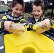 Young people lagging on recycling