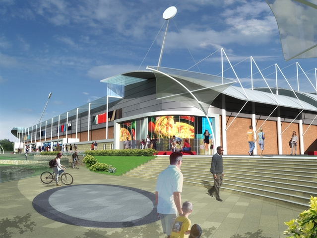 New stadium on target for 2012 opening