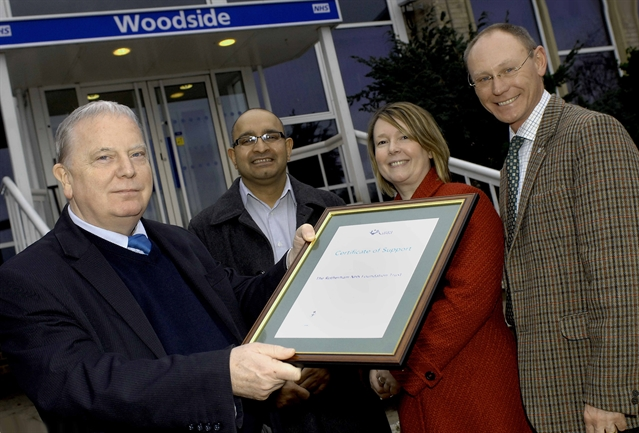 Rotherham Hospital's reservists honoured