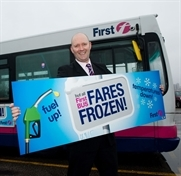 Bus fares frozen