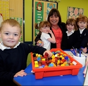 Children settle in to £2.4m new school