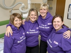 Award for Rotherham health scanning team