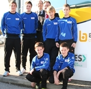 Youngsters on sporting  mission to South Africa