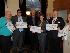 Rotherham charities' £7,000 share-out