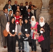 Students in Westminster talks with Rotherham MPs