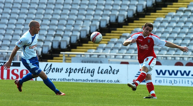 Millers v Burton Albion: MATCH ACTION