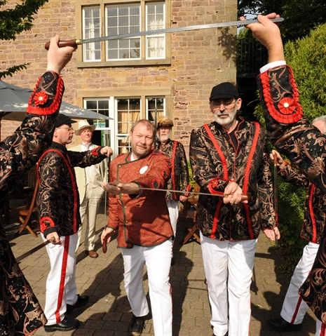 Sword dancers mark folklore pioneer's anniversary: VIDEO