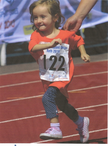 Tiny transplant survivors compete in annual games