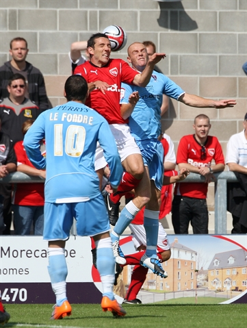 Morecambe v Millers: MATCH ACTION