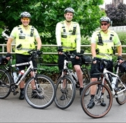 Police get on their bikes for new patrols