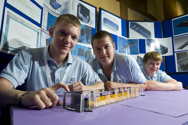 Success for school railway designers
