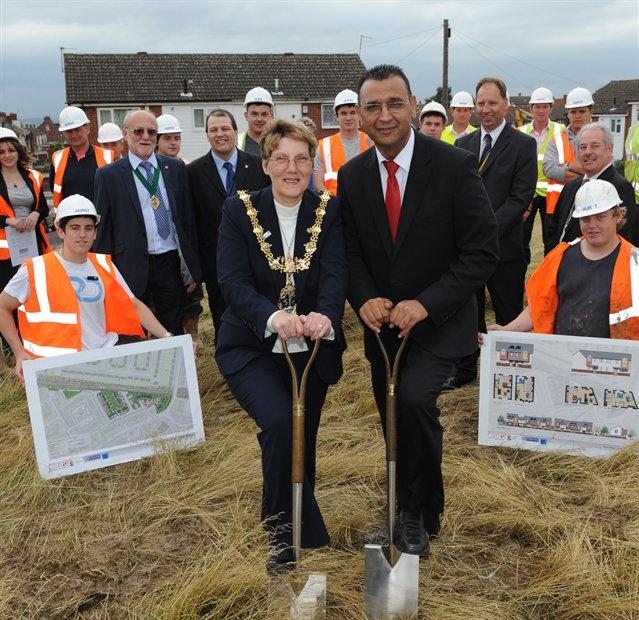 Council house building starts again after 30-year gap