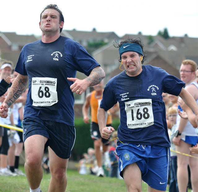 Hundreds join Brinsworth charity run: PICTURES