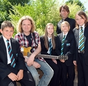 Toby turns Maltby Academy into School of Rock!