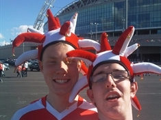 SLIDESHOW: Your photos from the Millers visit to Wembley