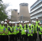 Kids' fact-finding tour of giant Drax power station