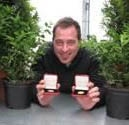 Jamie eyes prize at Chelsea Flower Show