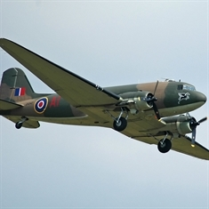 Dakota flyover for Wath schools' World War II day