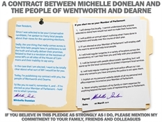 Wentworth and Dearne Tory issues pledges