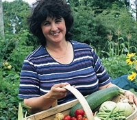 TV's Pippa Greenwood VIP guest at gardening event