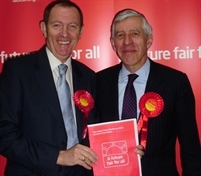 Kevin Barron and Jack Straw launch Yorkshire's Labour manifesto