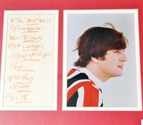 Fan's Beatles memorabilia could fetch £10,000