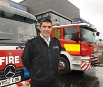 Fire boss in charge of new station he condemned
