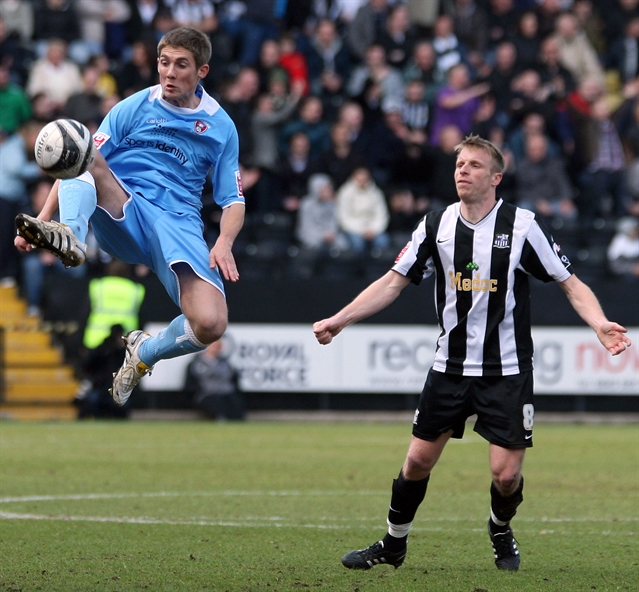 Match action from Millers v Notts County