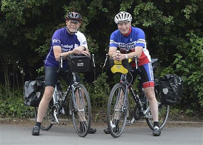 Pitfalls, potholes and pedal power on 1,000-mile challenge